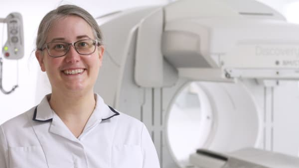 We provide the tools: Kelly's exploration into nuclear medicine