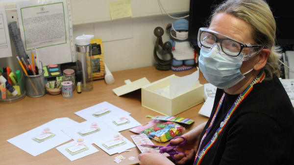 Memory making kits for bereaved families