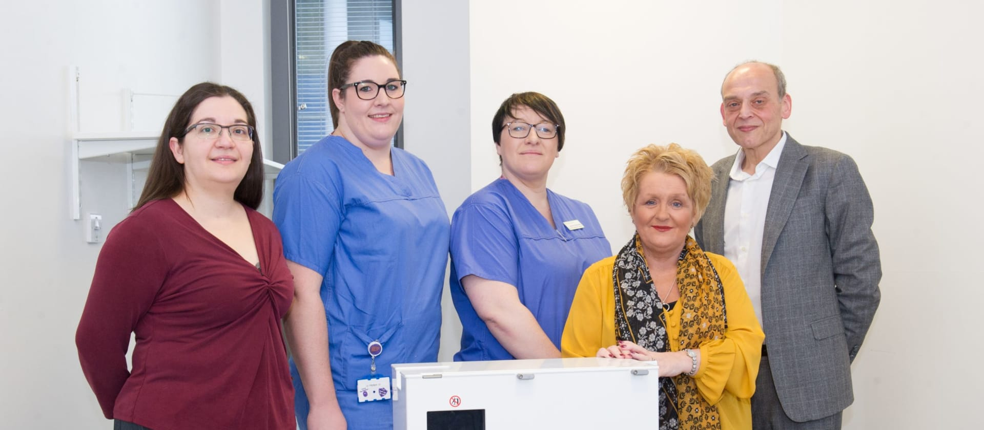 Liver machine gives mum Gail a new lease of life