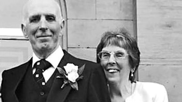Husband's fundraising walk in memory of his late wife