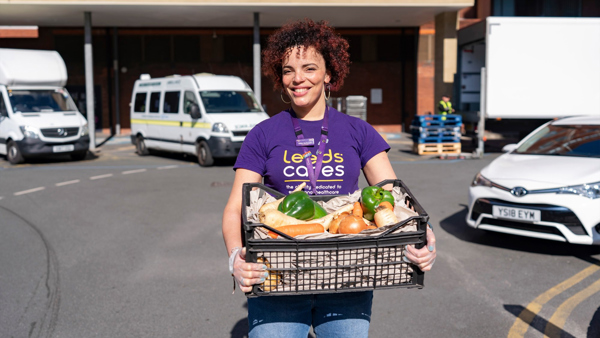 Leeds Hospitals Charity supports national campaign to get healthy food to NHS
