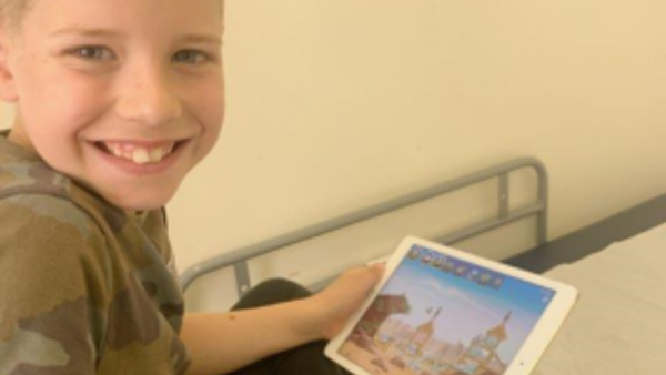 Leeds Cares funds iPads for young patients at Leeds Children's Hospital